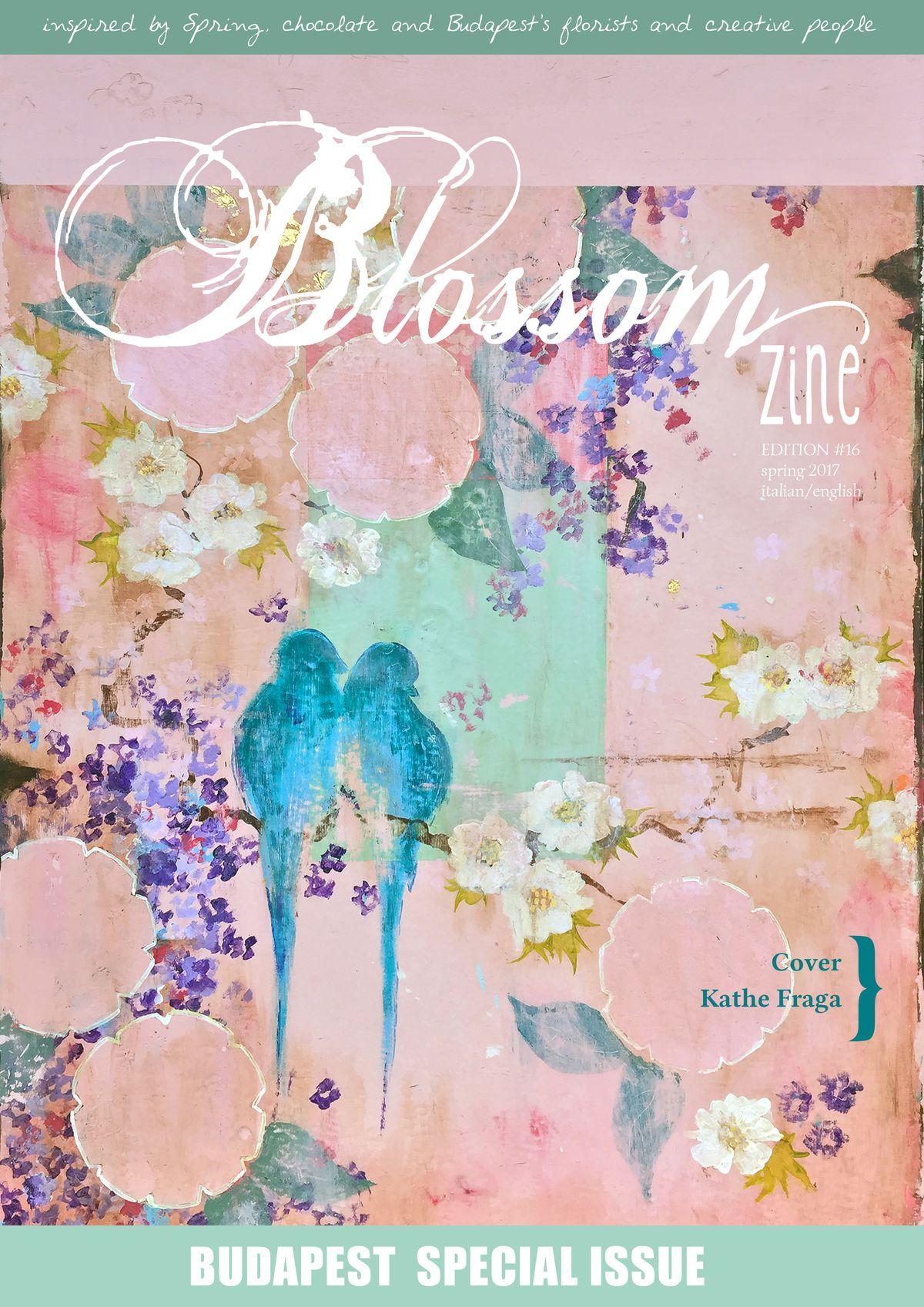 blossom zine N16 SPRING Blossom zine 2017