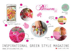 Blossom zine Summer issue