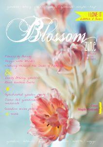 Blossom zine Spring Cover br
