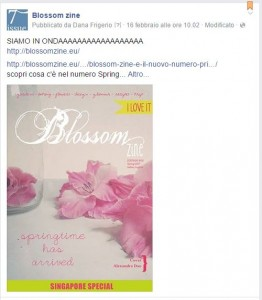 blossom zine facebook