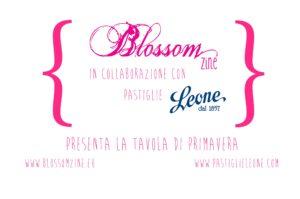 Blossom zine per Pastiglie Leone