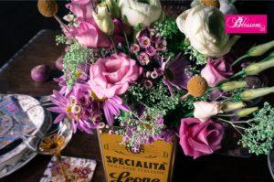 Blossom zine per Pastiglie Leone fiori tavola