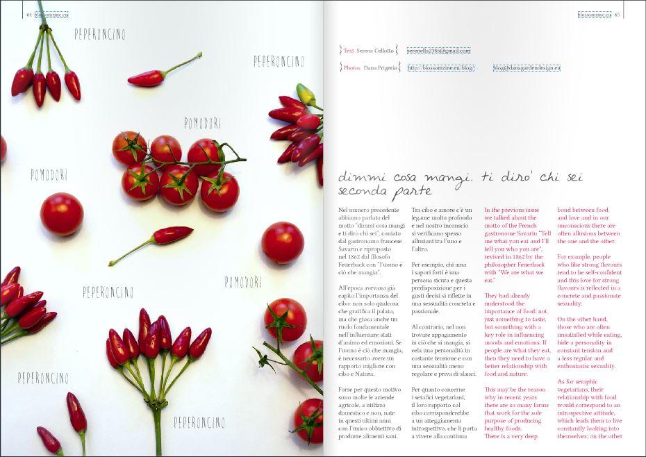 blossom zine digital magazine Spring