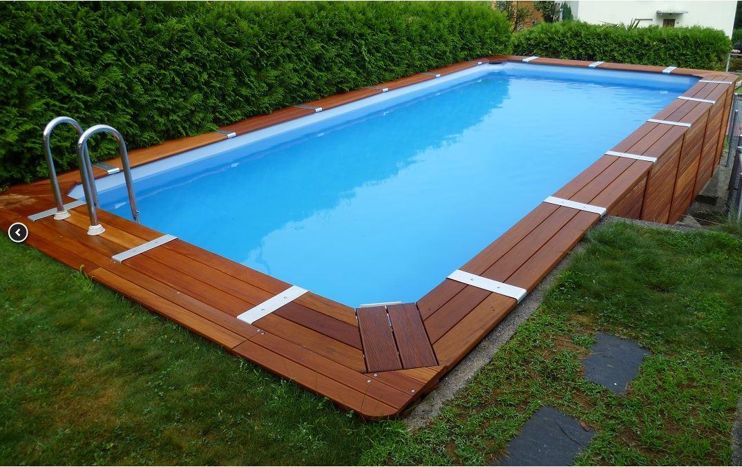 Come scegliere una piscina fuori terra da giardino blossom zine blog - Piscina a terra ...