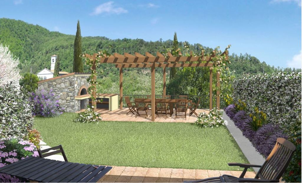 Giardino sul terrazzo design casa creativa e mobili - Giardino pensile terrazzo ...