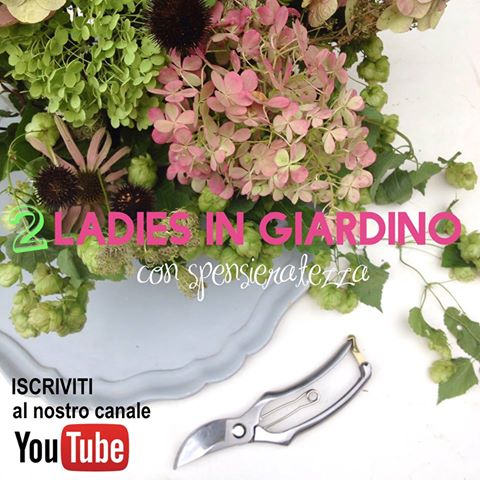 iscriviti al canale2 ladies in giardino