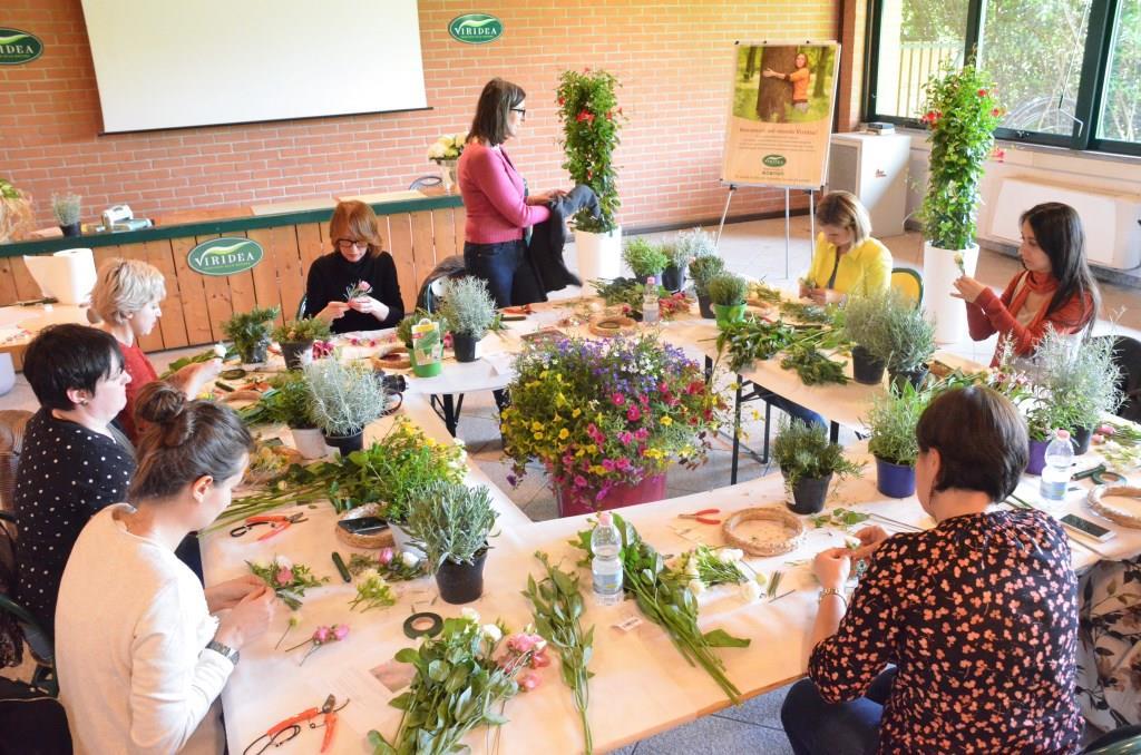 viridea about garden workshop