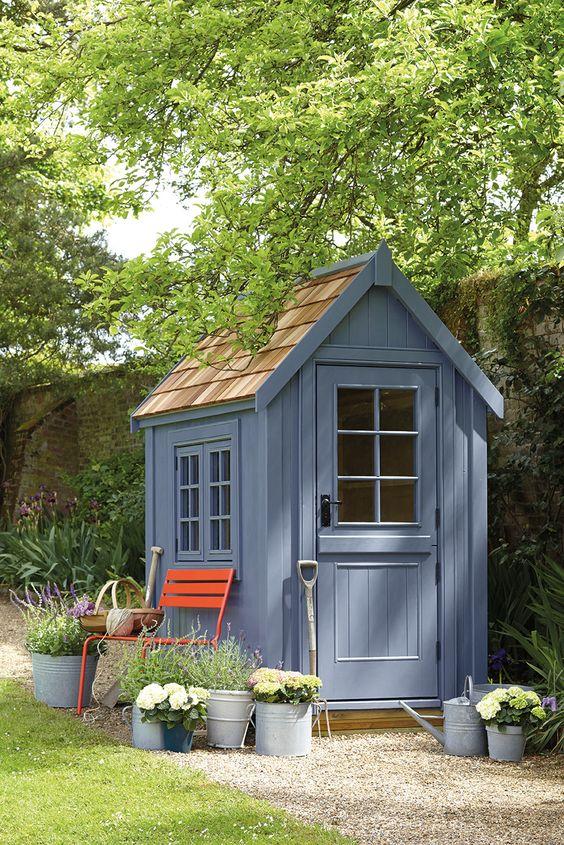 Casette di legno per giardino   blossom zine blog