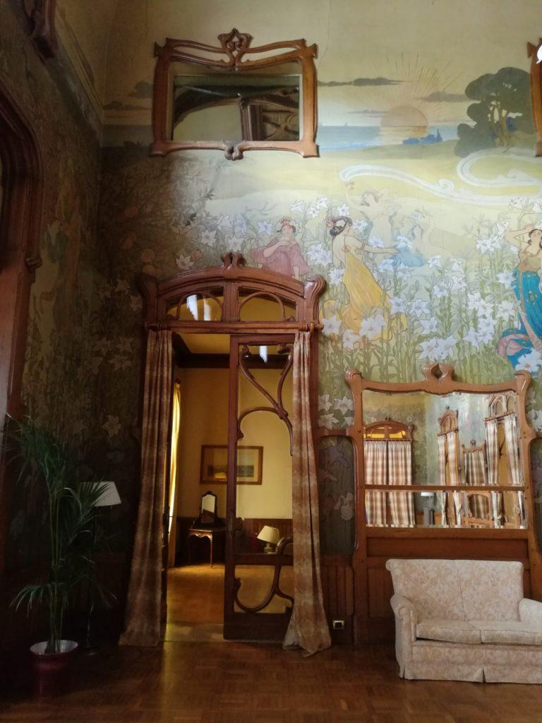 Blossom zine fiat 500 viaggio verso sud Palermo Villa Igiea