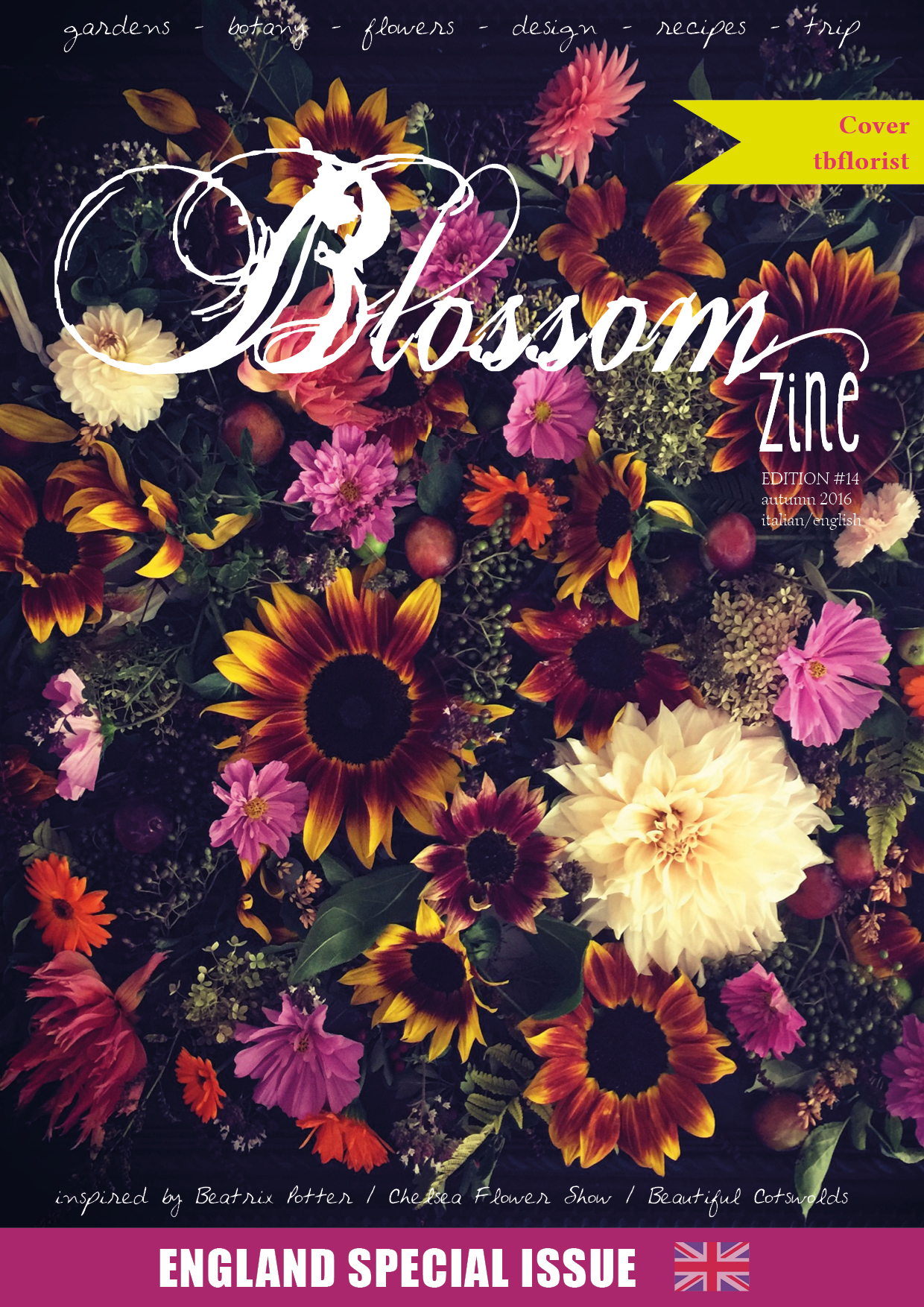 N 14 AUTUMN  2016 Blossom zine. COVER