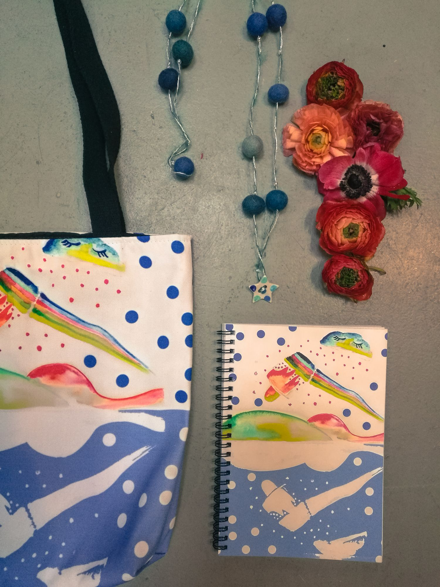 moodboard floreali workshop blossom zine