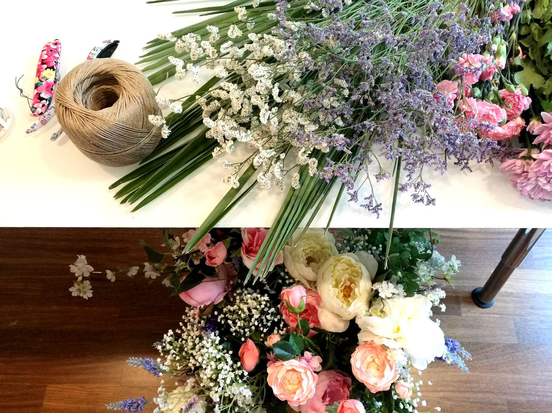Blossom zine decorazione floreale per Home Philosophy Academy