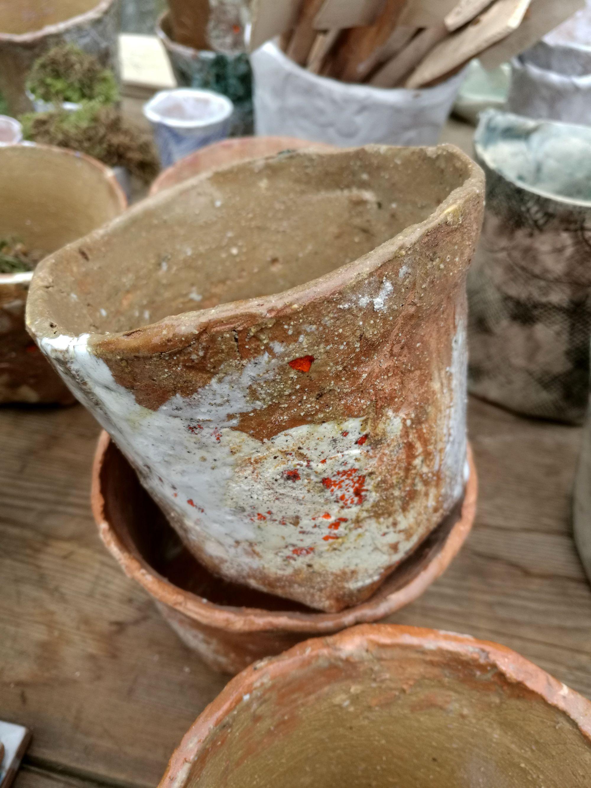 Monica Bispo vaso argilla