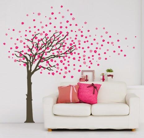 Voglia di un adesivo murale blossom zine blog - Adesivi da parete ikea ...