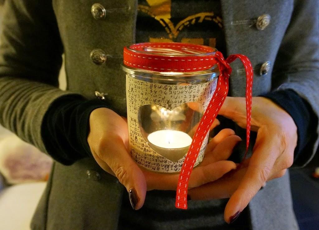 Diy Candeline Nei Barattoli Di Vetro Natalealverde Blossom Zine Blog