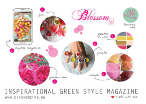 Blossom zine Summer issue