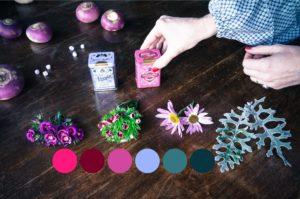 Blossom zine per Pastiglie Leone mini bouquet 2
