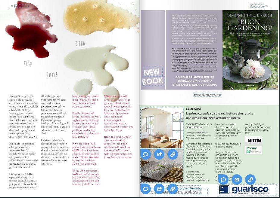 blossom zine digital magazine Spring 2