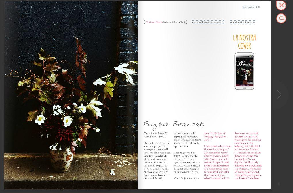 Foxglove Botanicals su Blossom zine