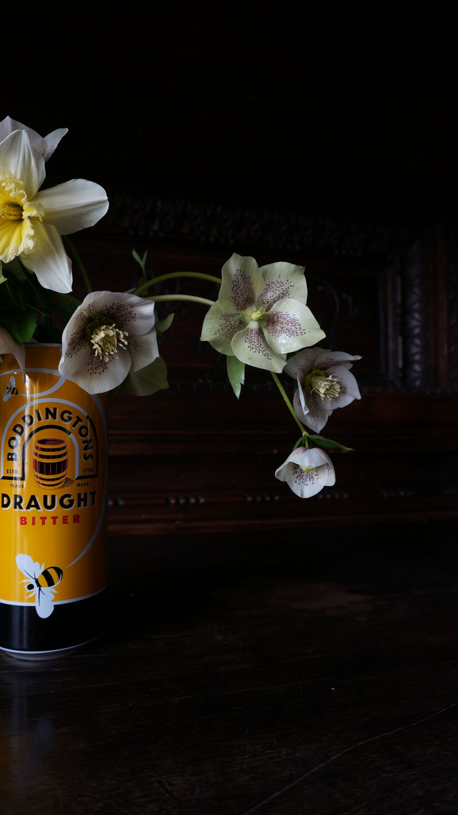 Blossom zine Helleborus orientalis (3)
