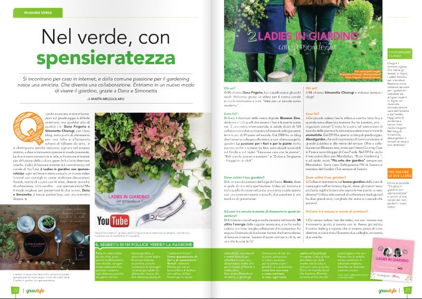 green style pag doppia aprile
