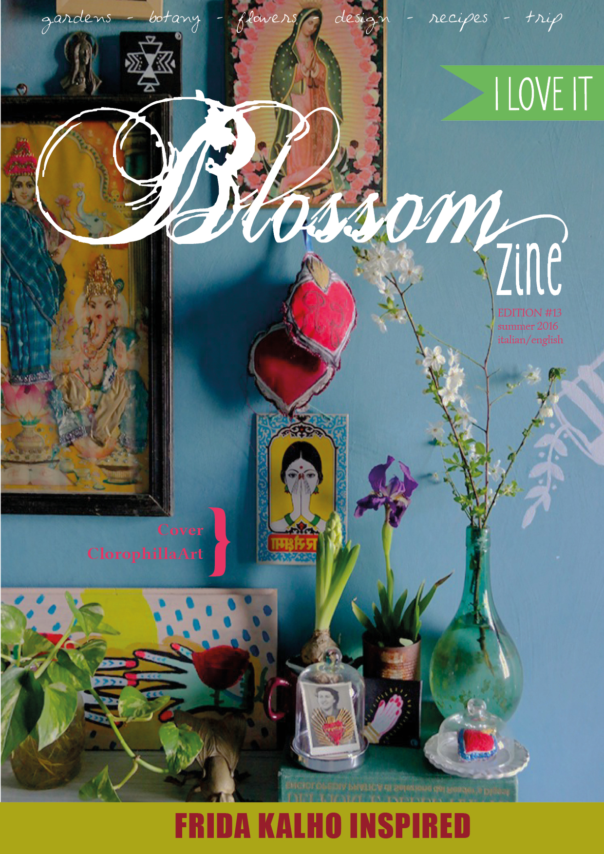 Blossom zine N 13 COVER