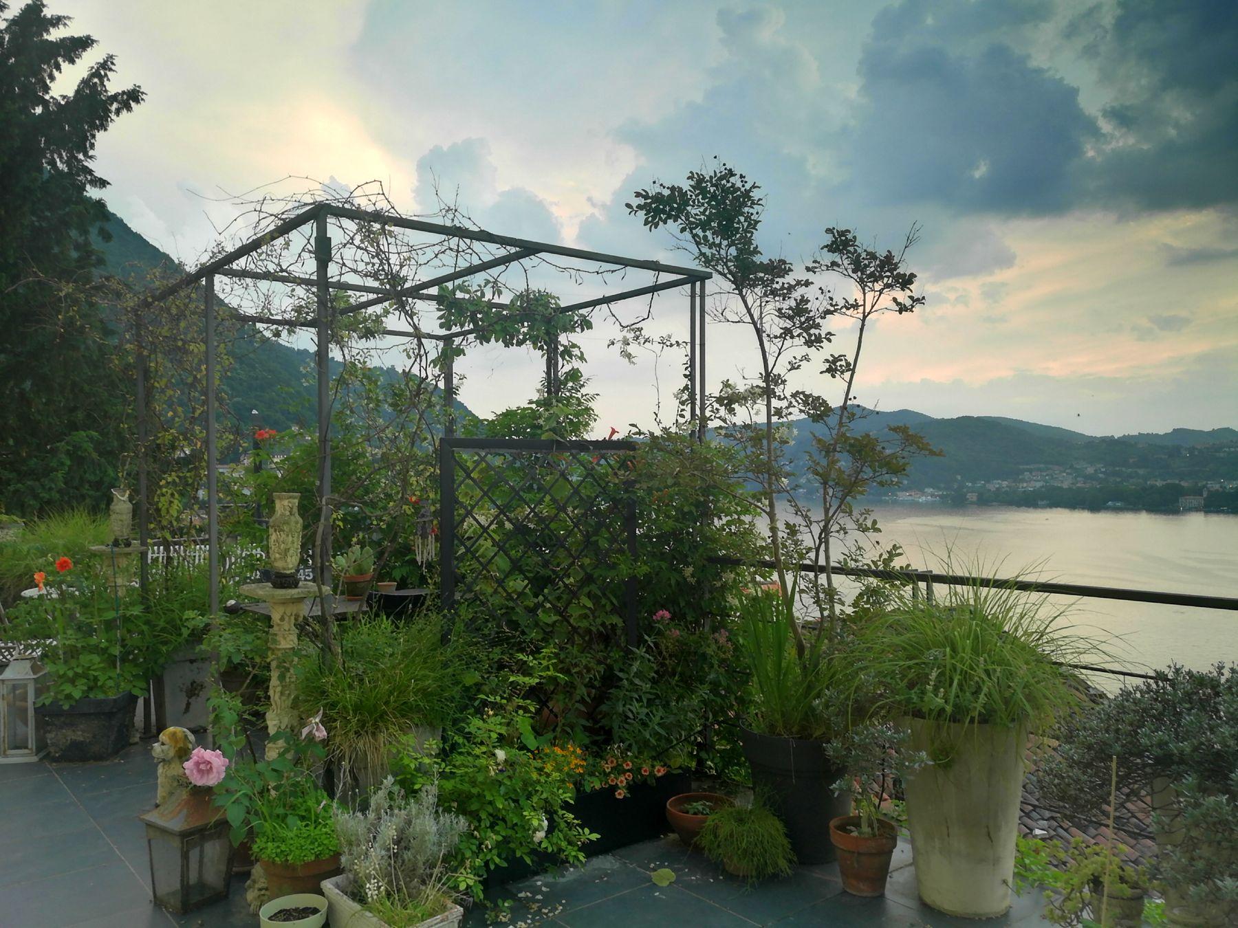 Balcone Lungo E Stretto come progettare un terrazzo con un traliccio con fioriera