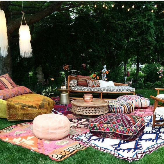 Arredare un terrazzo con i tappeti ! | BLOSSOM ZINE BLOG