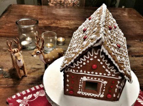 Casetta Di Natale Da Colorare : Decorazioni natale blossom zine page