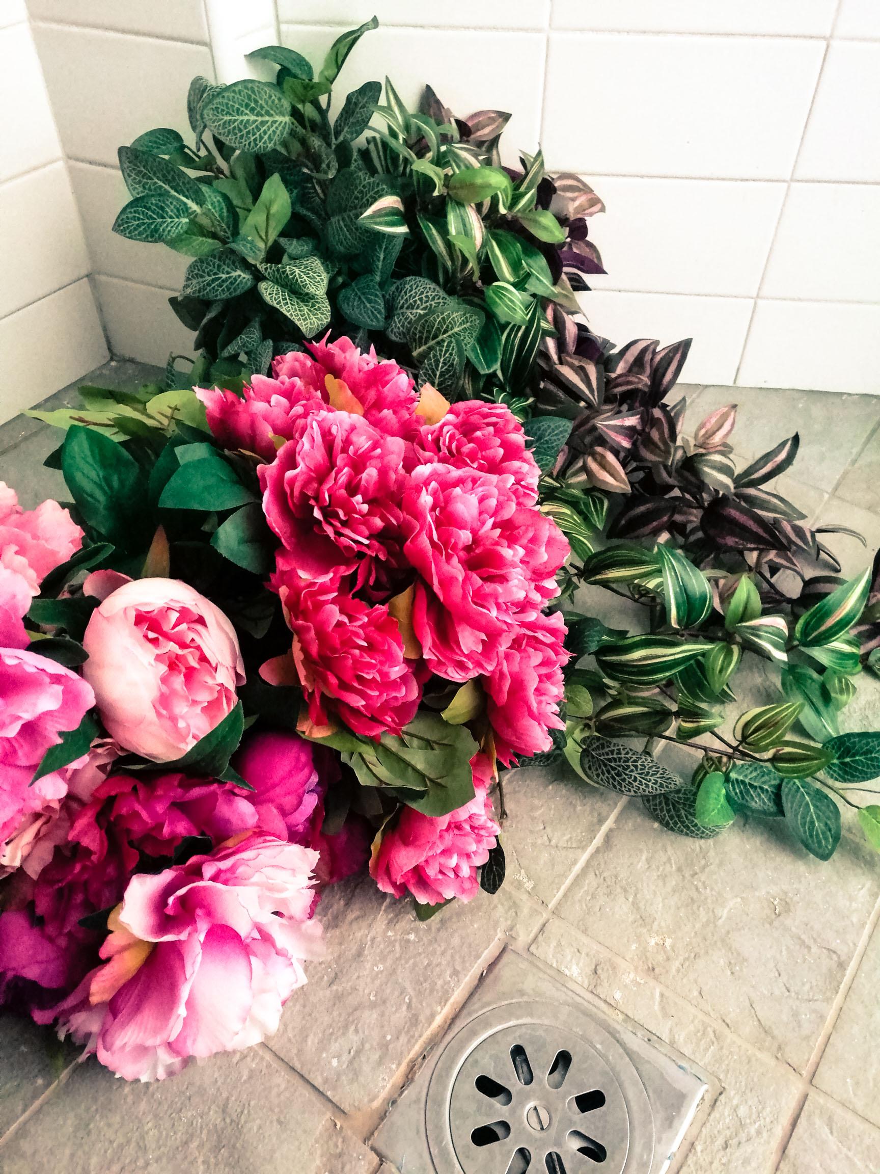 bellissimi fiori in tessuto di fioriandfiori.it