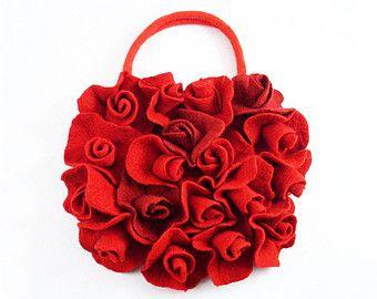 san valentino rose rosse borsa