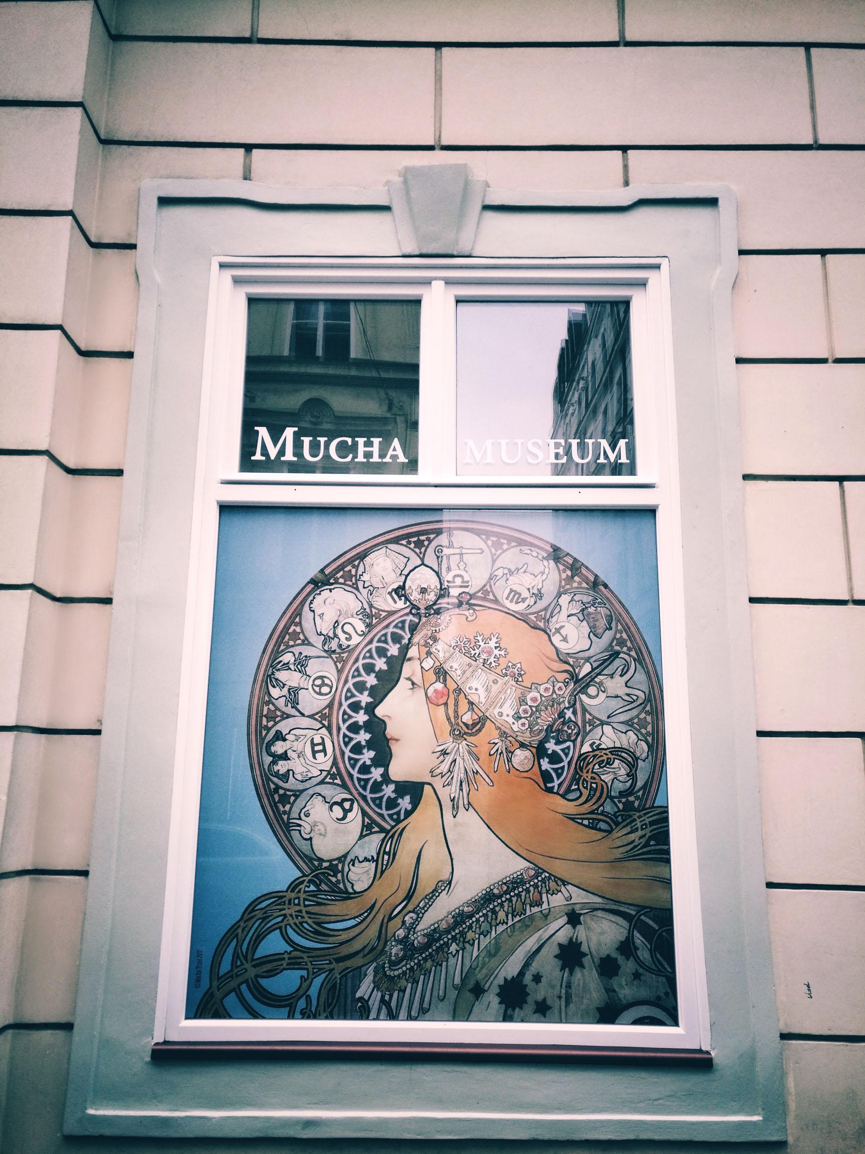 Blossom zine Praga in 4 giorni Museo Mucha