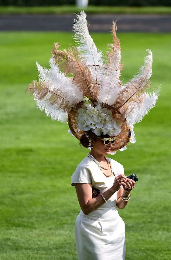 hats at Royal Ascot cappelli ascot