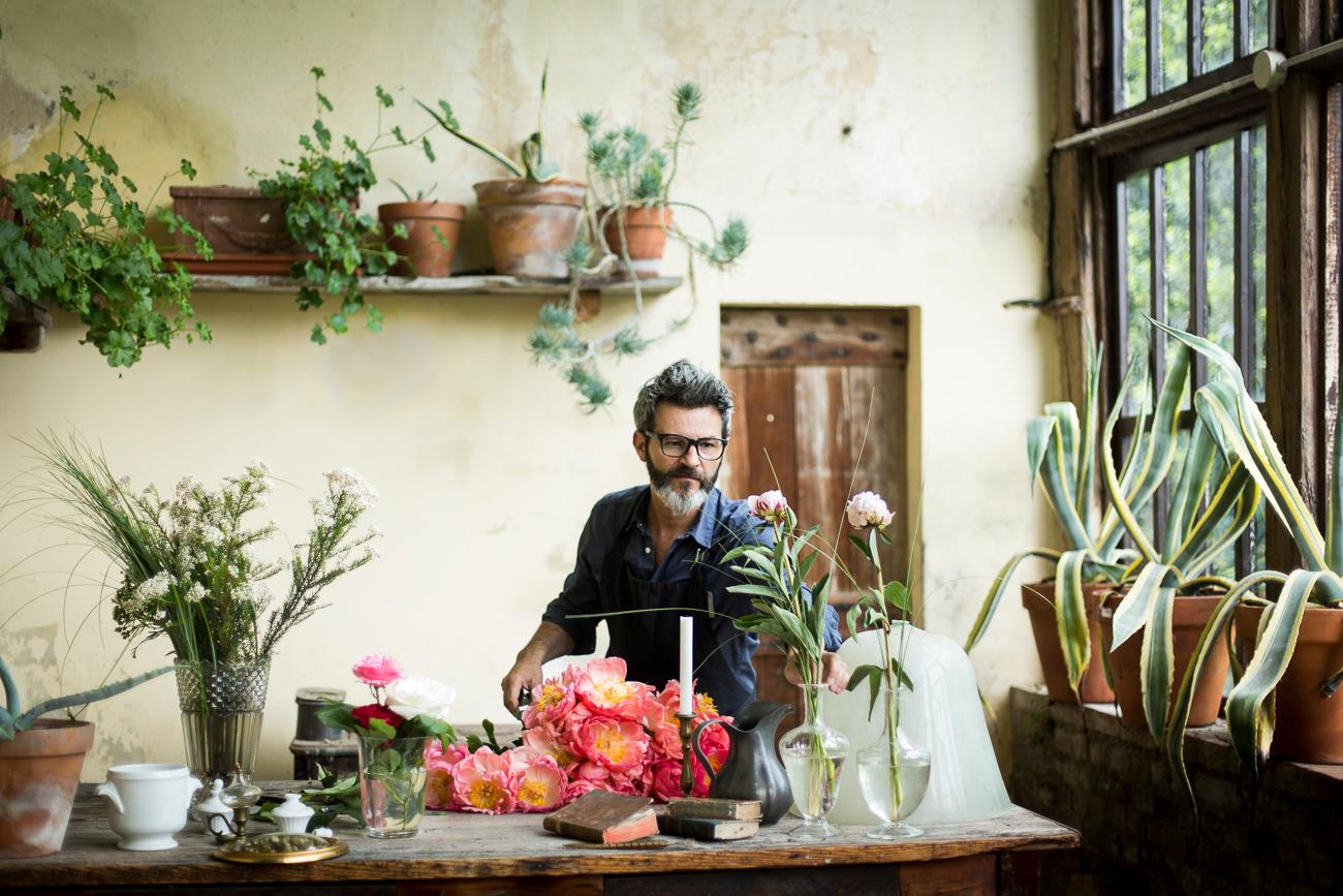 David Zonta - Floral Designer (Ph Romina Rezza)