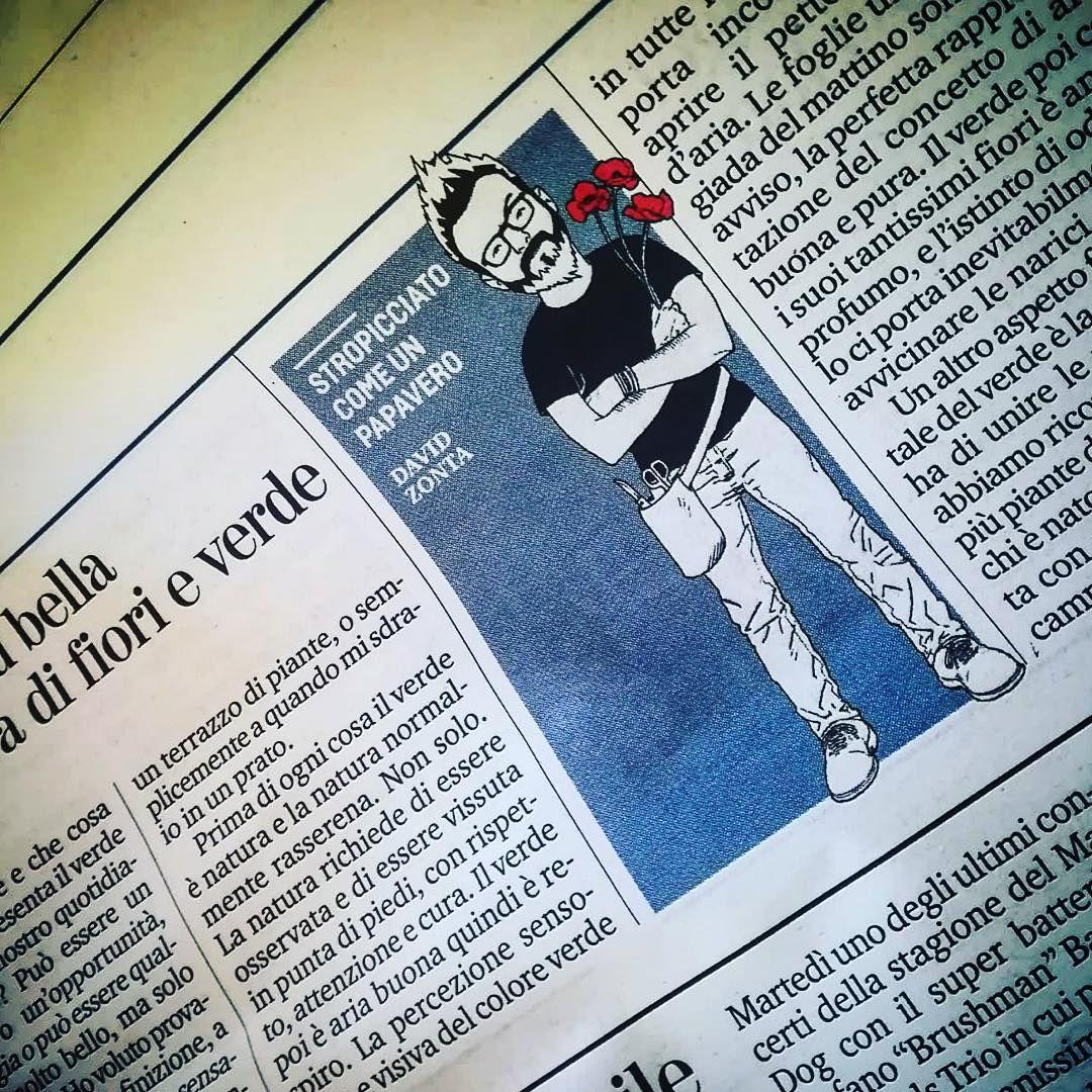 David Zonta - Floral Designer su La Stampa