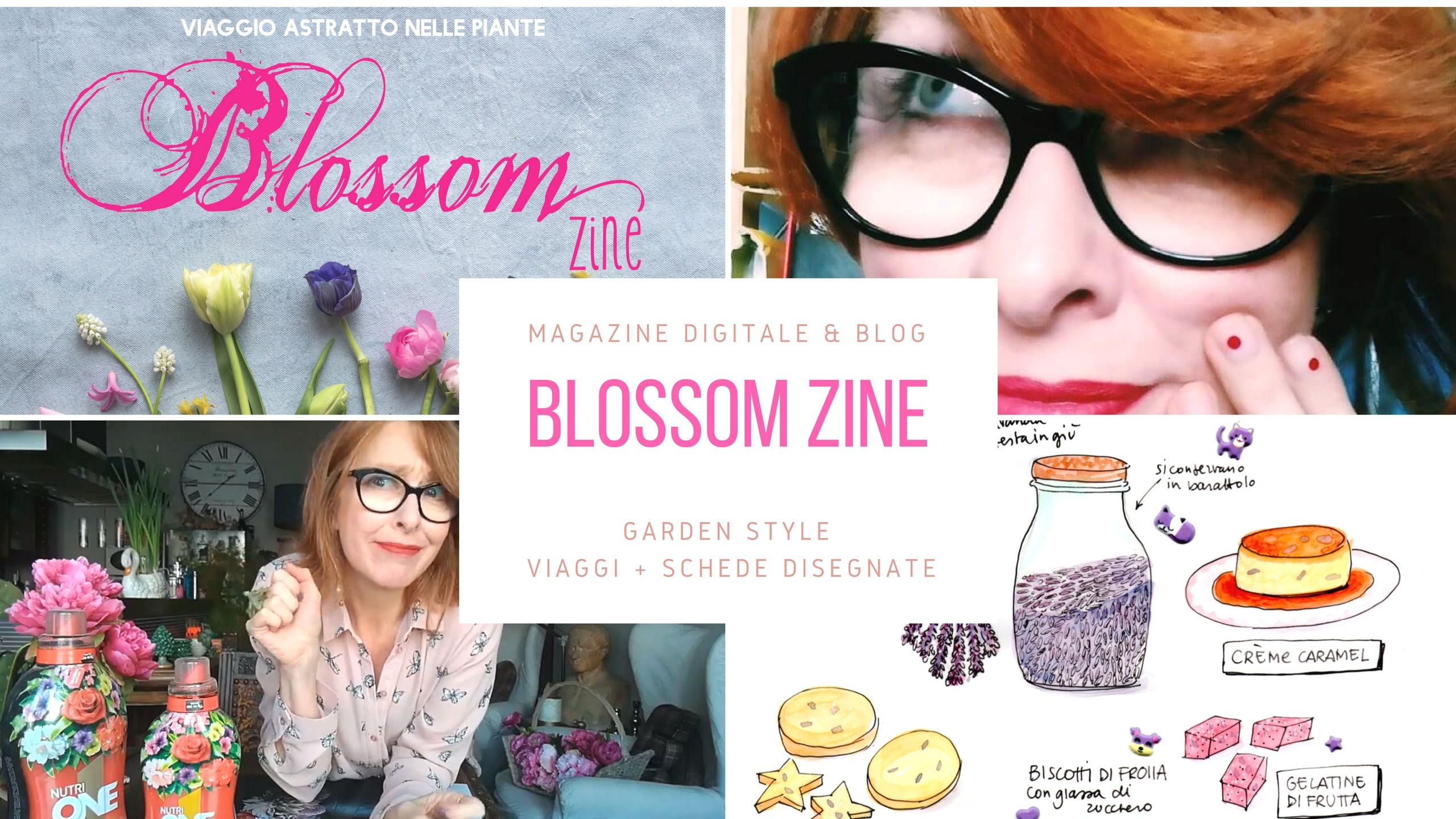 blossom zine youtube channel