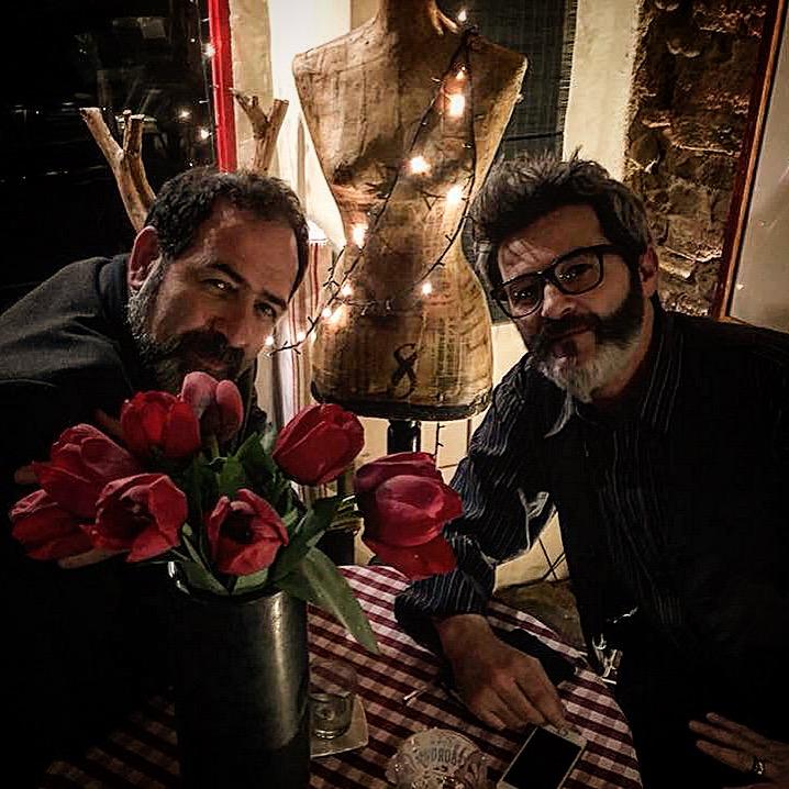 David Zonta con Federico Sirianni