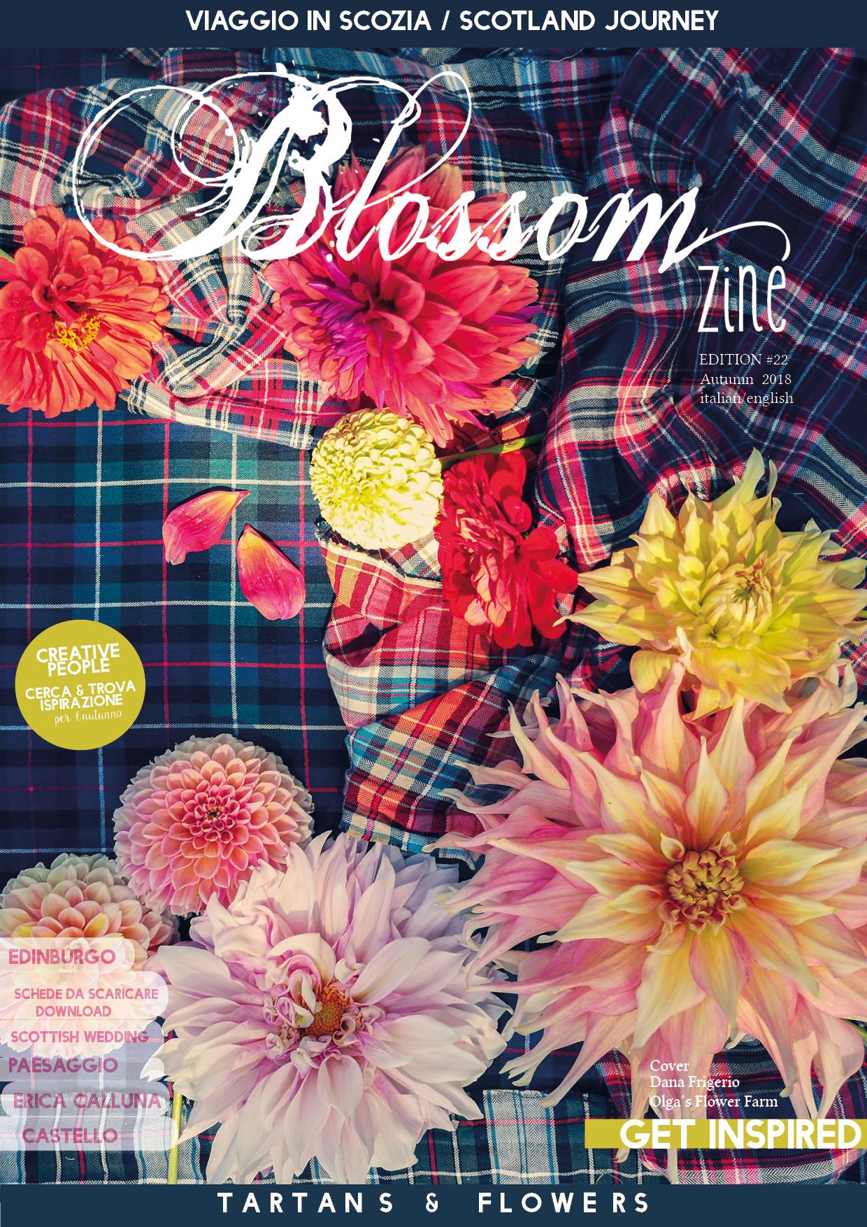 Blossom zine rivista di fiori e viaggi SFOGLIAMI dal PC o dal cellulare