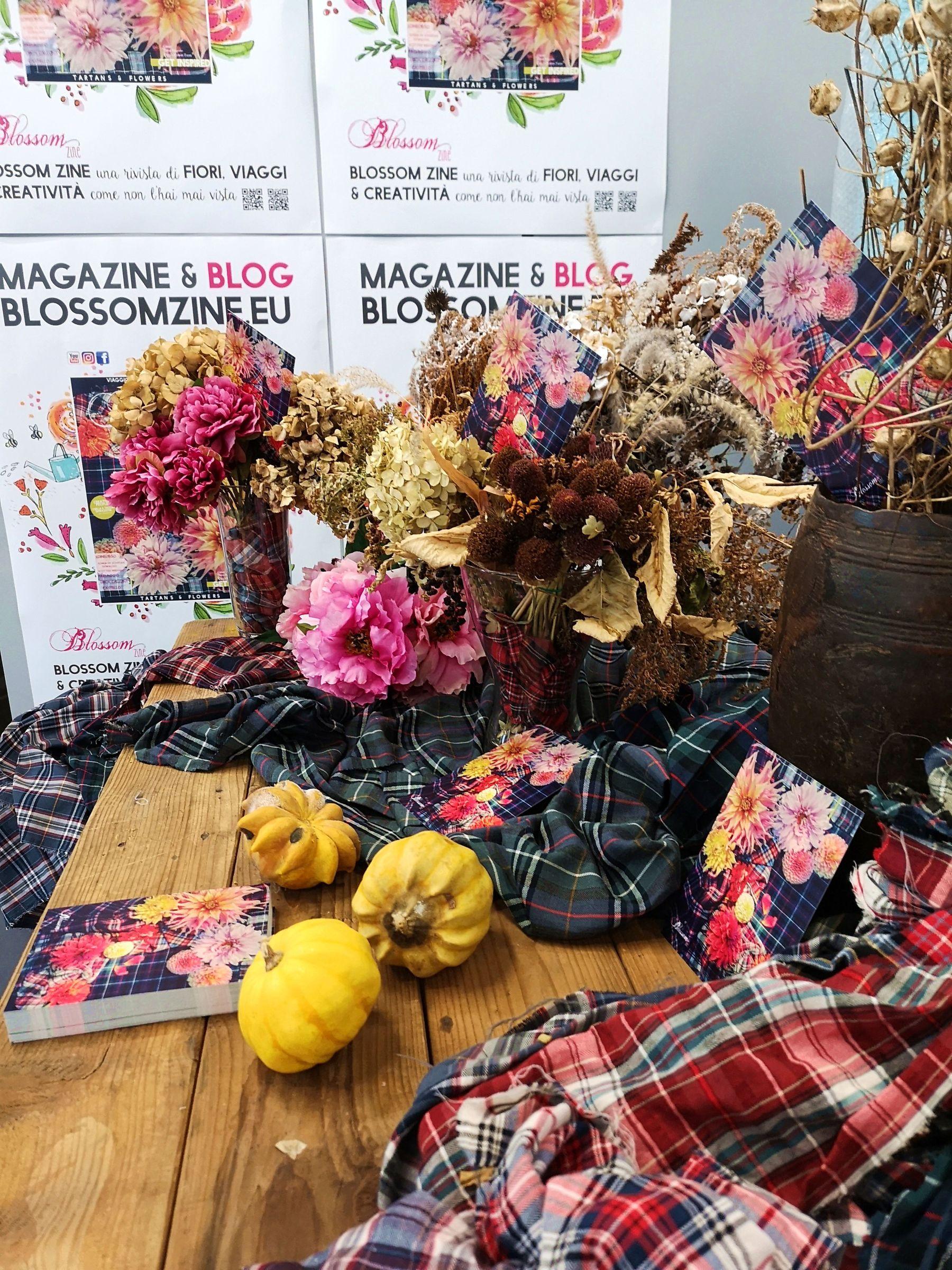 Blossom zine autumn numero scozia