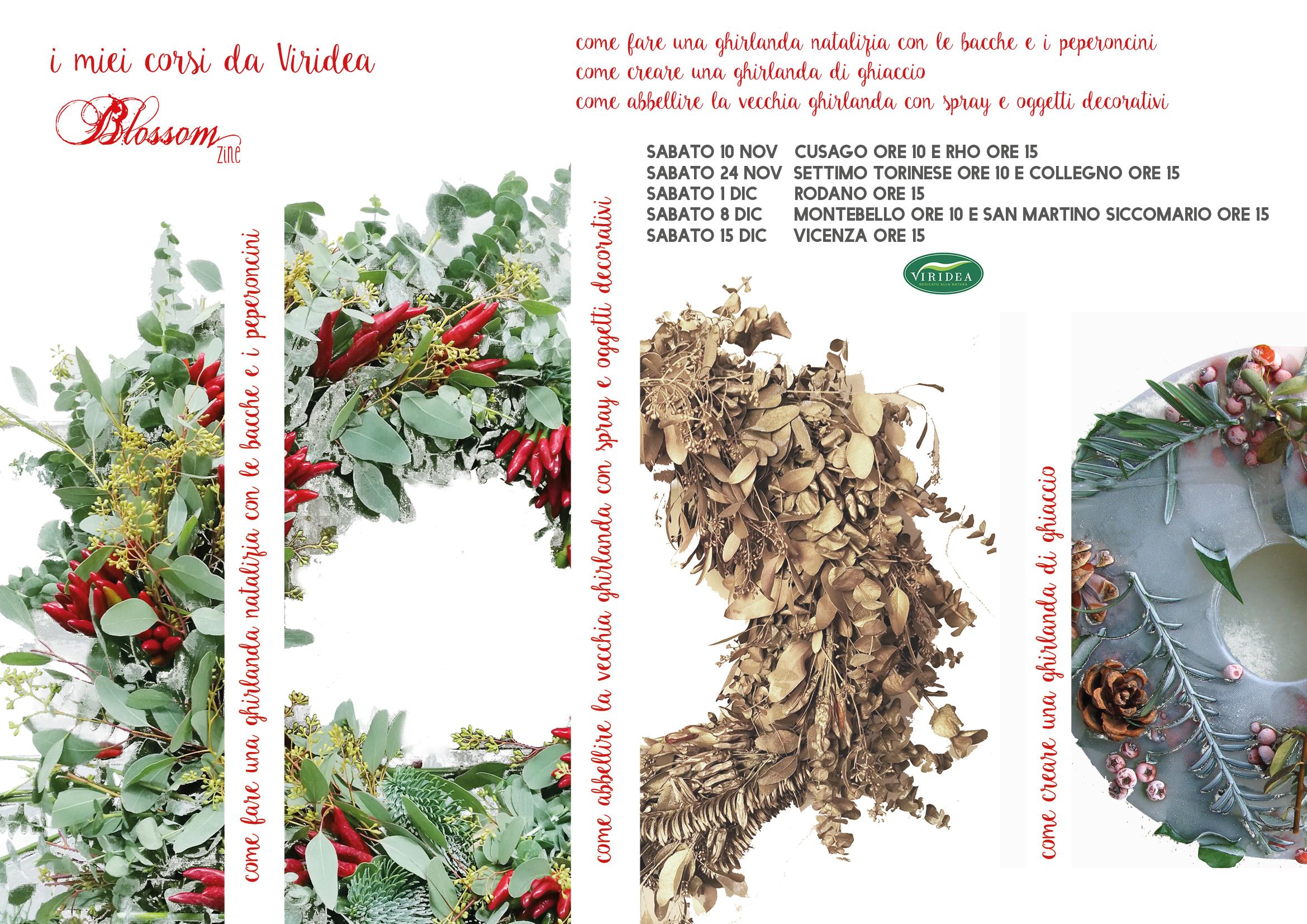 Workshop Natalizi Da Viridea Ghirlande Per Tutte Le Tasche