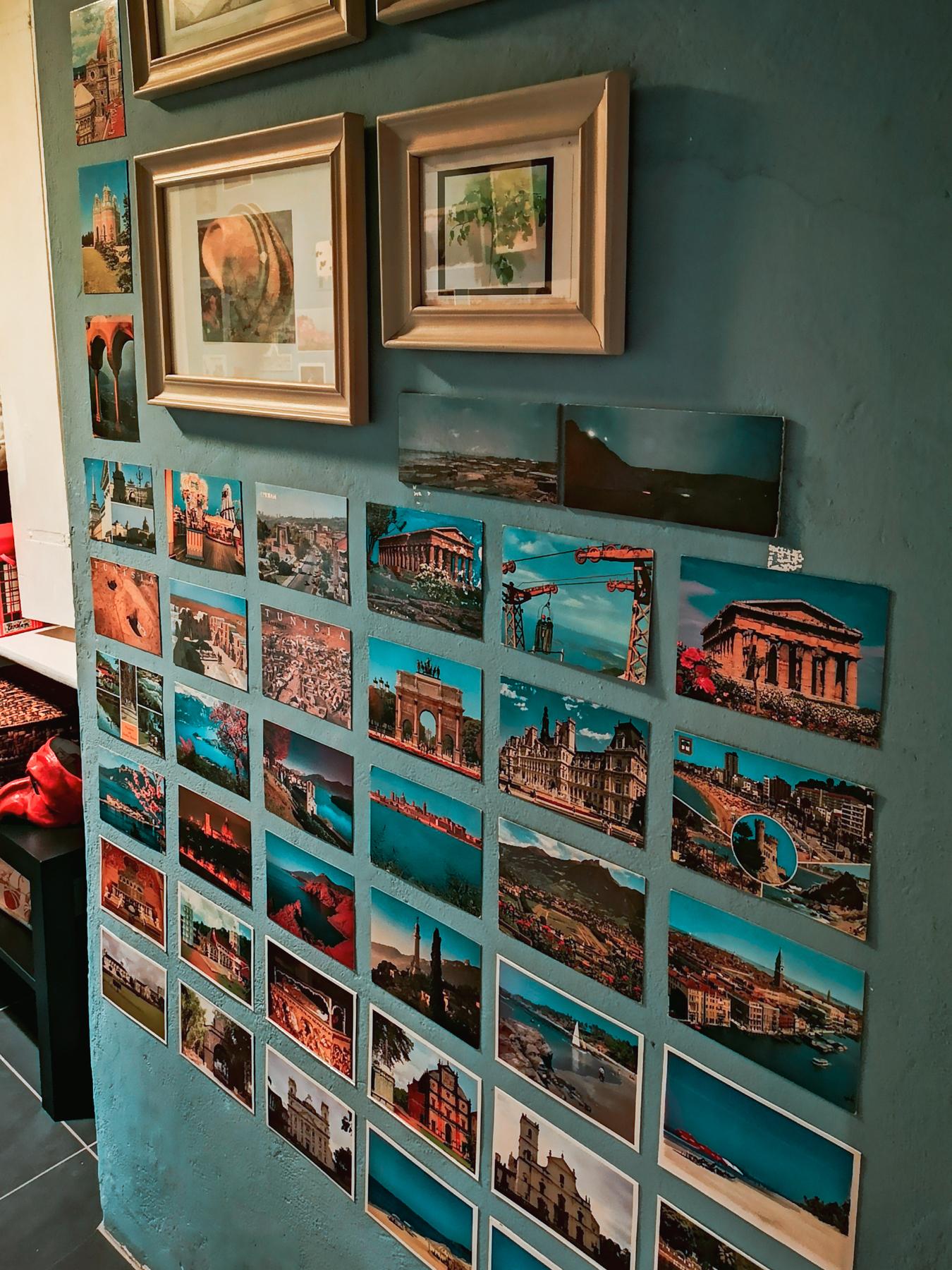 blossom zine cartoline vintage parete