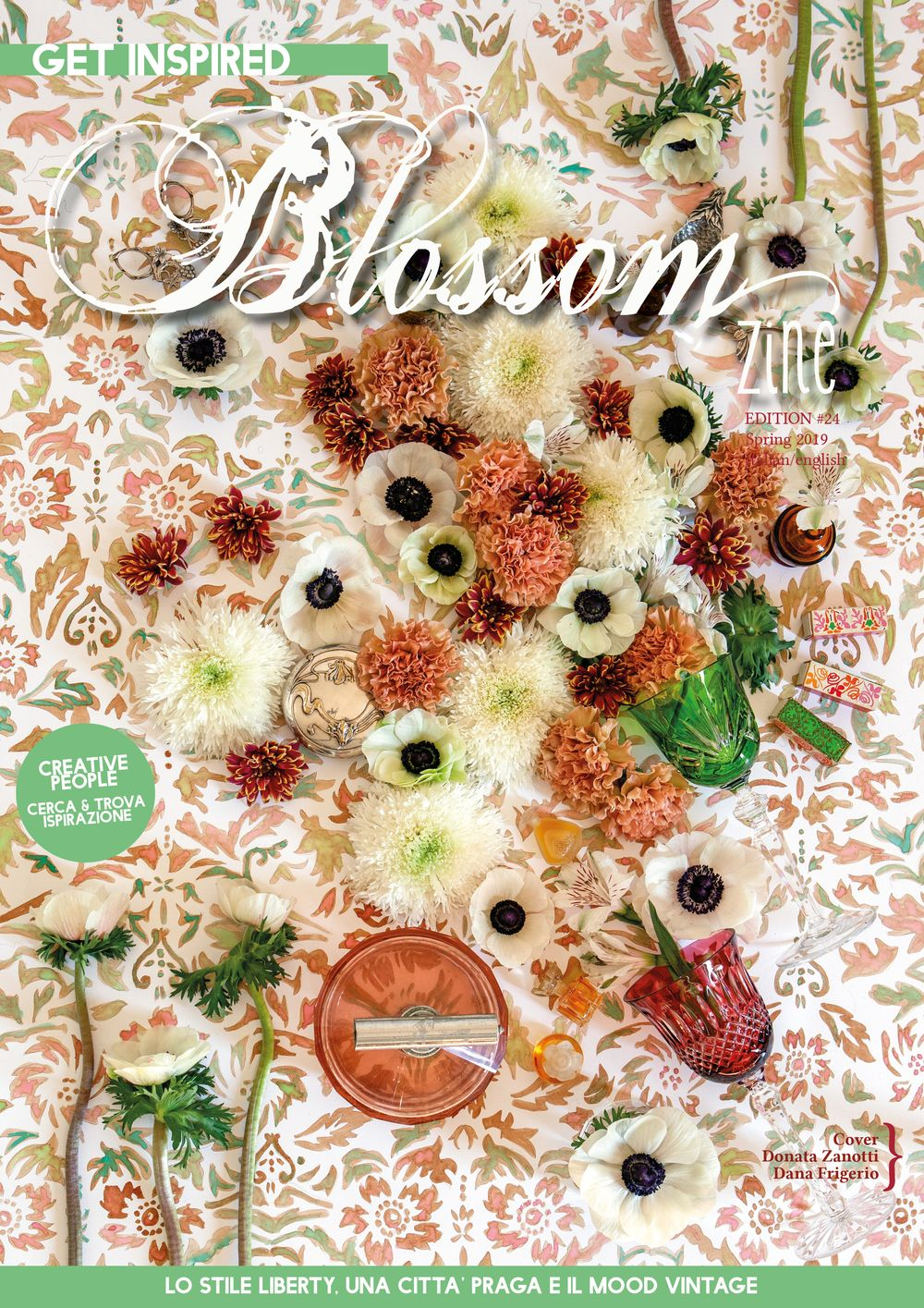 COVER SPRING Blossom zine N 24 Spring