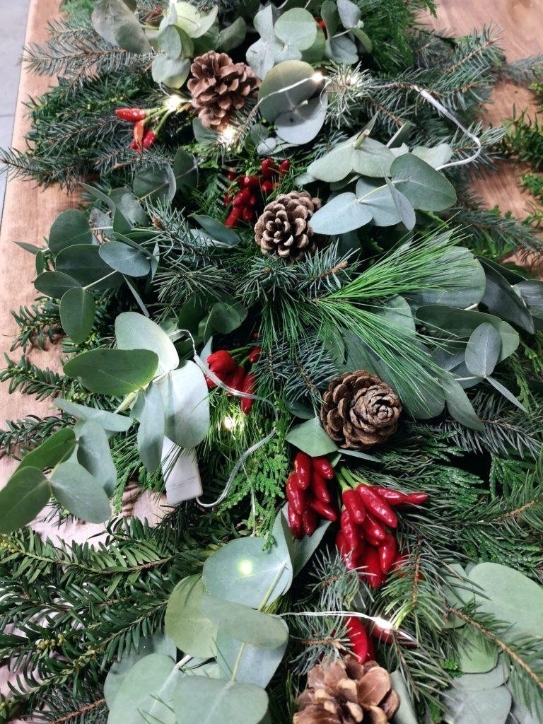 blossomzine decorazioni festoni natale bosch