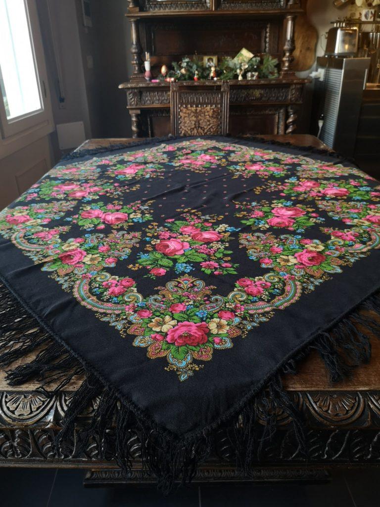 blossomzine tavola di natale stile russo