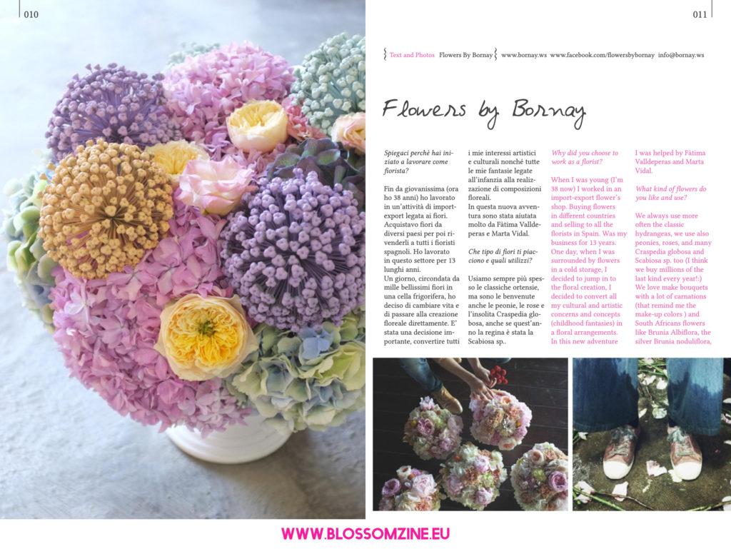 Flowers by Bornay, floral designer intervista su Blossomzine