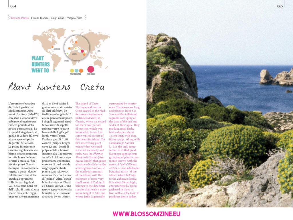 L'escursione botanica di Creta