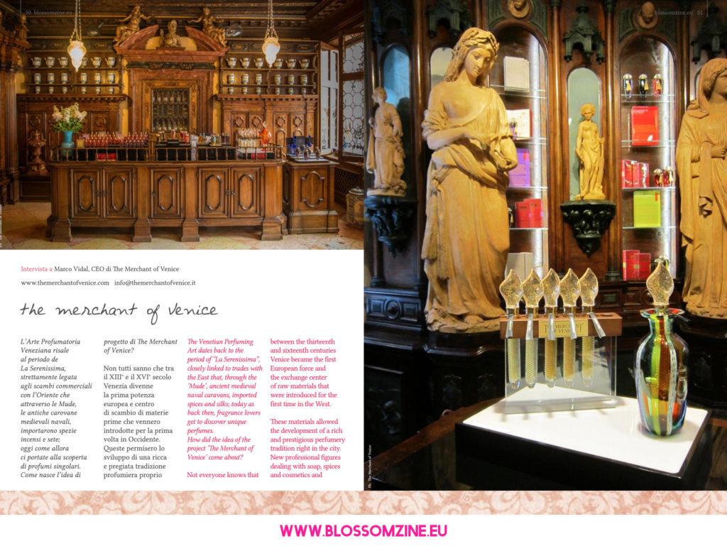 Merchant of Venice intervista su Blossomzine