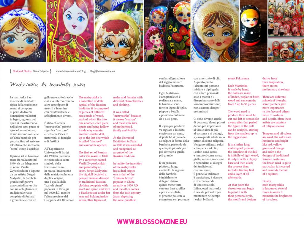 Matrioska, la bambola russa