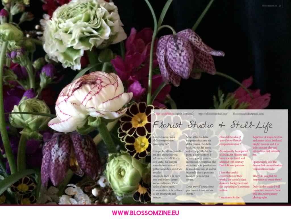 Le composizioni fiamminghe di Blossom and Dill, intervista Blossomzine