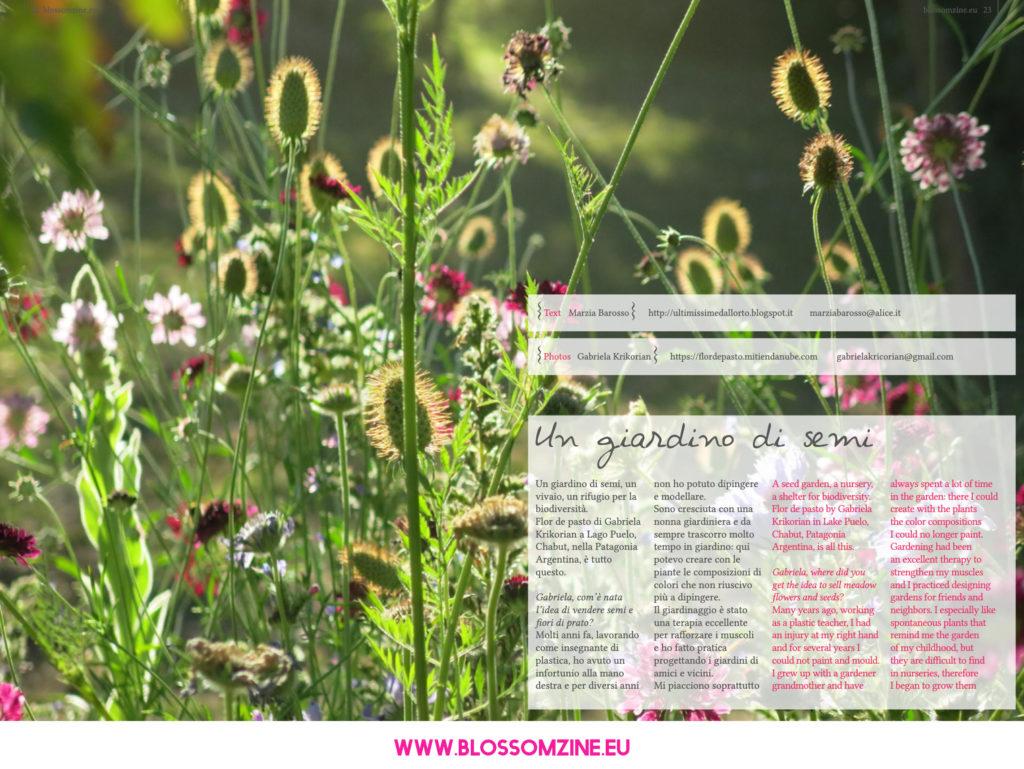 Il giardino naturale con Flor de Pasto
